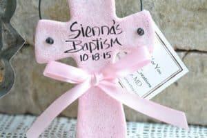 Recuerdos y adornos para bautizo manualidades sencillos