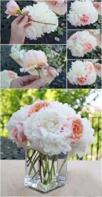 arreglos de flores para bautizo florales