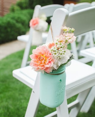 arreglos de flores para bautizo naturales