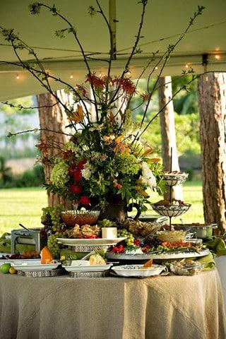 arreglos de mesa para fiestas dulces