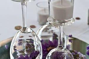Centro de mesas faciles de hacer y economicos para fiestas