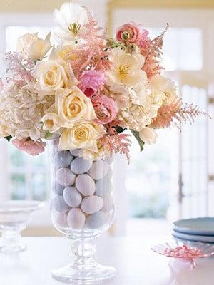 Como hacer centros de mesa artificiales minimalistas - Como hacer centro de flores artificiales ...
