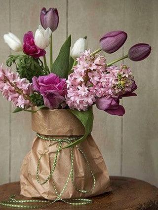 centros de mesa economicos de flores