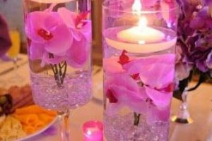 Lindos centros de mesa economicos y sencillos para decorar