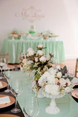 centros de mesa elegantes para bautizo imagenes