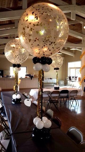 centros de mesa para 50 años de casados