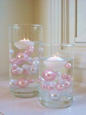Centros de mesa para bautizo con velas centros de mesa para bautizos - Centros con velas ...