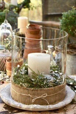 centros de mesa para bautizo de cristal arreglos