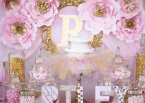 Sencilla decoracion para baby shower en casa con familiares