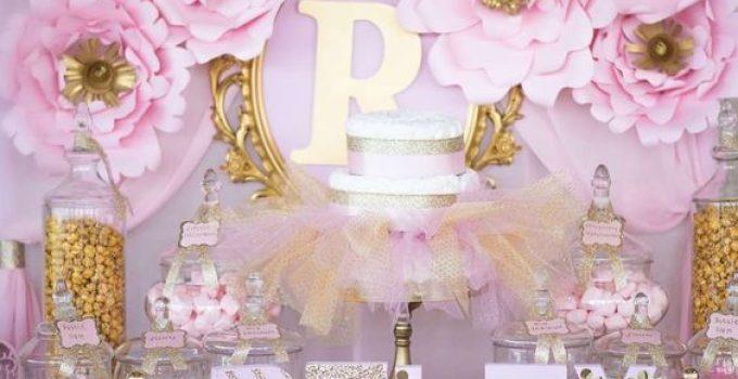 Adornos para baby shower centros de mesa para bautizos - Decoracion baby shower nina sencillo ...