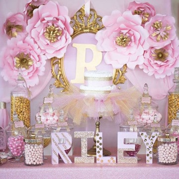 Sencilla decoracion para baby shower en casa con for Decoracion baby shower nina