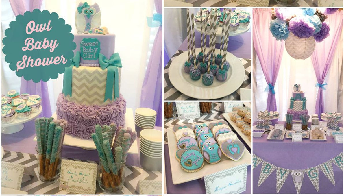 Imagenes de decoracion de baby shower para ni a centros for Decoracion baby shower nina