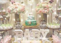 Imagenes de decoracion de baby shower para niña