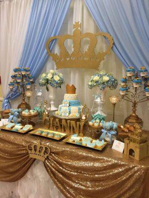 imagenes de decoracion de baby shower para varon