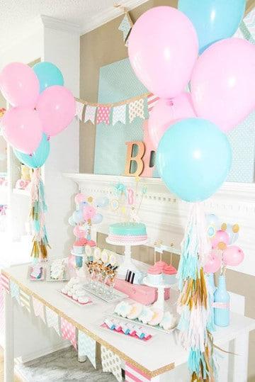 mesas de dulces para bautizo fiestas infantiles