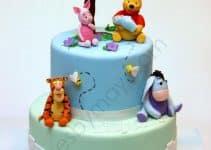 Los modelos más usados en pasteles de baby shower de niño