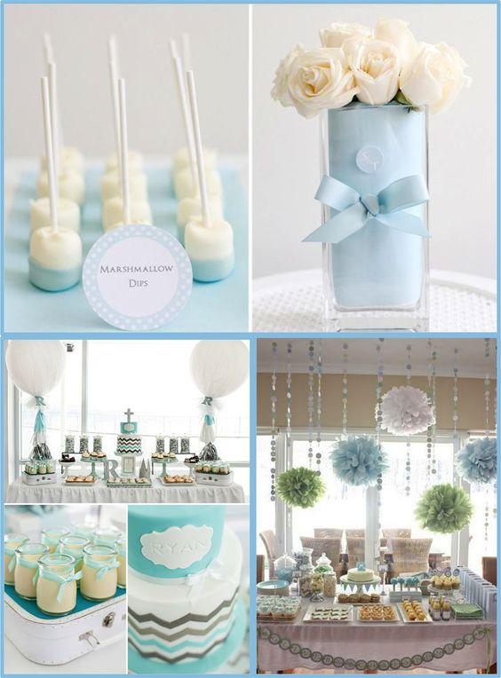 Arreglos y recuerdos de centro de mesa para eventos - Como hacer centros de mesa con dulces para bautizo ...