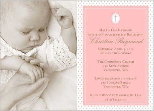 tarjetas de invitacion para bautizo de niño