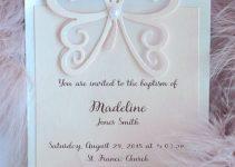 Top 4 de tarjetas de invitacion para bautizo y cumpleaños