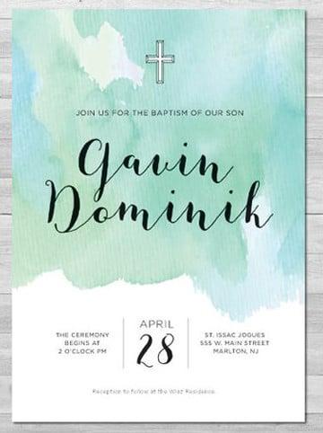 tarjetas de invitacion para bautizo para editar gratis