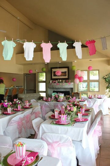 Tips para decoracion baby shower de ni a y ni o centros - Tips de decoracion ...