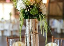 Arreglo y centro de mesa rustico para tu fiesta a la moda