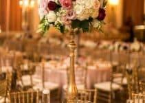Hablan las flores en centros de mesa con flores naturales