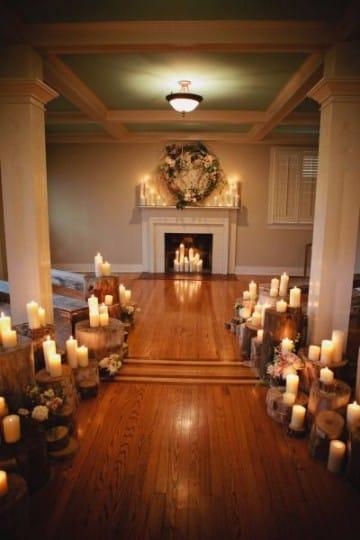 decoracion de bodas en casa pequeñas