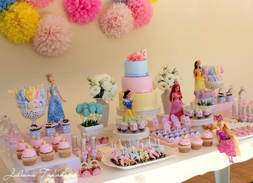 fiestas infantiles tematicas princesas