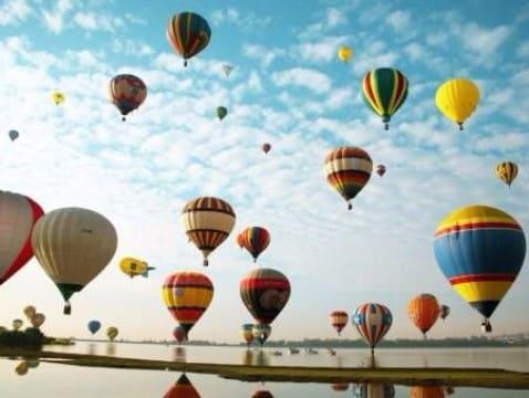 globos aerostaticos de papel eventos