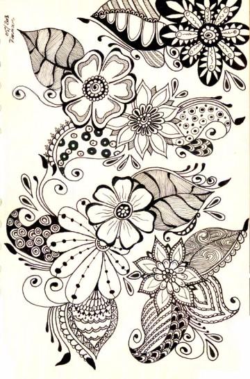 Dibujos de hojas de otoño para colorear e imprimir | Centros de Mesa ...