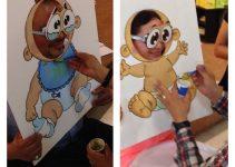 Diviértete con estos  juegos de baby shower mixto dinámicos