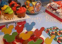 manualidades para fiestas infantiles para centros de mesas