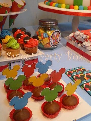 manualidades para fiestas infantiles de minnie