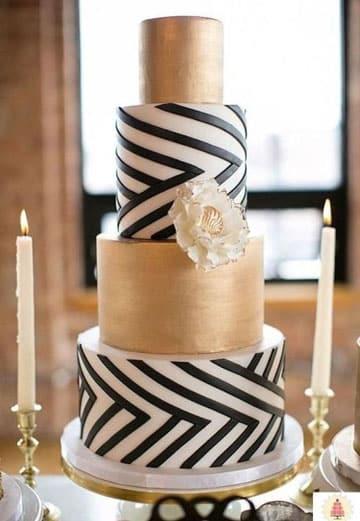pasteles de boda elegantes 2016