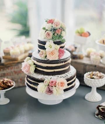 pasteles de boda sencillos originales