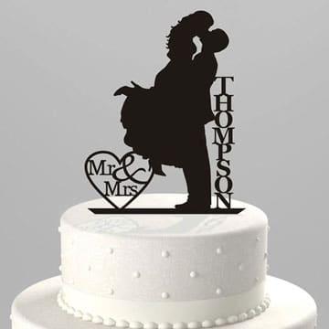 pasteles de boda sencillos y bonitos