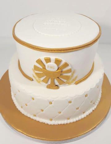tortas de comunion para varon modernas