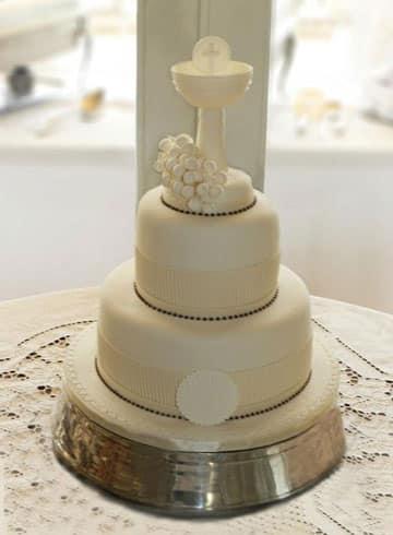 tortas de comunion para varon primera