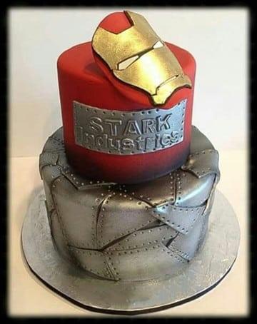 tortas decoradas para hombres de 18 años