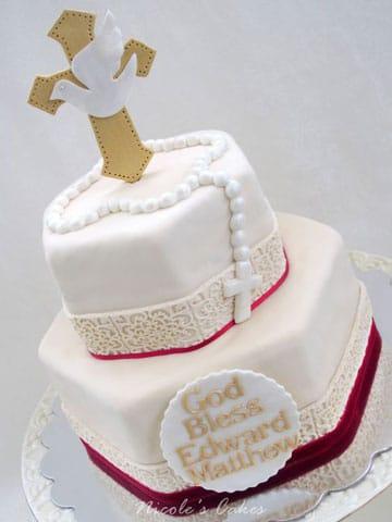 tortas para confirmacion decoracion
