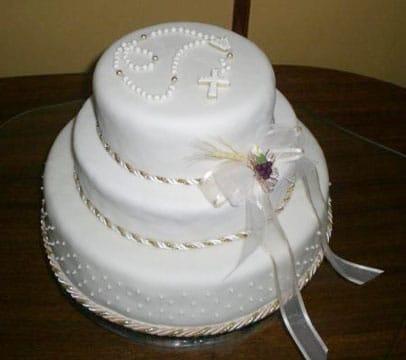 tortas para confirmacion nina