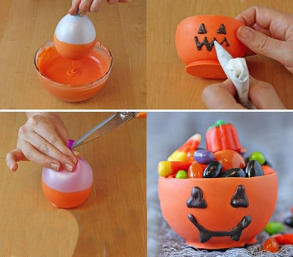 adornos de halloween caseros para niños