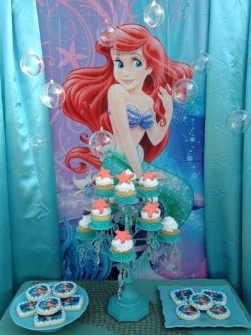 adornos para cumpleaños infantiles princesas
