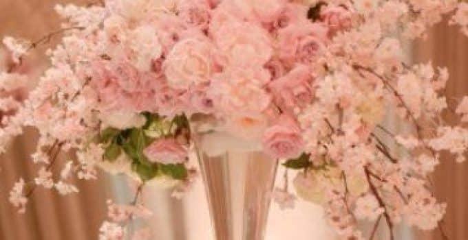 Arreglos florales para 15 a os sencillos centros de mesa for Arreglos para xv anos