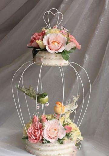 Economicos y sencillos arreglos florales para quince a os - Peceras pequenas decoradas ...