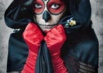 Catrinas y calaveras mexicanas maquillaje moderna