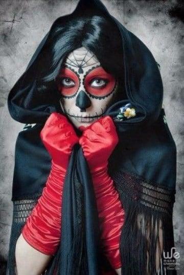 calaveras mexicanas maquillaje faciles