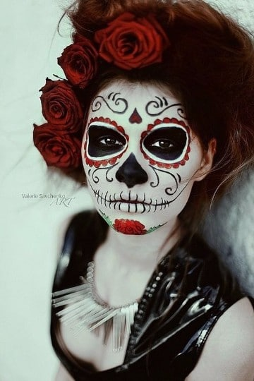 calaveras mexicanas maquillaje moderna