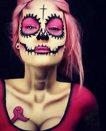 calaveras mexicanas maquillaje mujeres